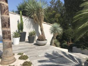 Décoration d'une terrasse